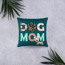 Load image into Gallery viewer, Buy online Premium Quality Dog Mom - Leopard Paw - Basic Pillow - Gift Idea - #dogmomtreats - Dog Mom Treats