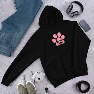 Buy online Premium Quality Dog Mom - Large Paw - Unisex Hoodie - Dog Mom Gift Idea - #dogmomtreats - Dog Mom Treats
