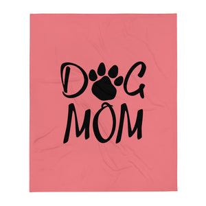 Buy online Premium Quality Dog Mom - Paw - Throw Blanket - #dogmomtreats - Dog Mom Treats