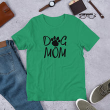Load image into Gallery viewer, Buy online Premium Quality Dog Mom - Paw - Short-Sleeve Unisex T-Shirt - Gift Idea - #dogmomtreats - Dog Mom Treats