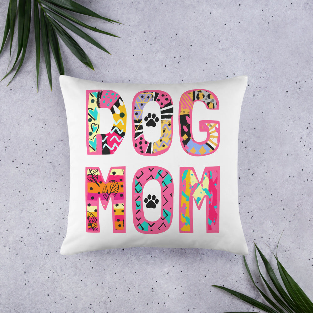 Buy online Premium Quality Dog Mom Sassy Collection - Basic Pillow - Great Gift Idea - Dog Mom Treats