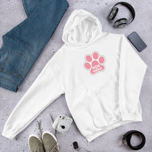 Load image into Gallery viewer, Buy online Premium Quality Dog Mom - Large Paw - Unisex Hoodie - Dog Mom Gift Idea - #dogmomtreats - Dog Mom Treats
