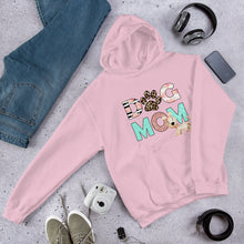 Load image into Gallery viewer, Buy online Premium Quality Dog Mom - Leopard Paw - Unisex Hoodie - Gift Idea - #dogmomtreats - Dog Mom Treats