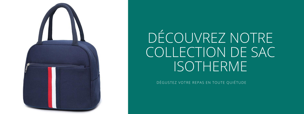 Collection sac isotherme