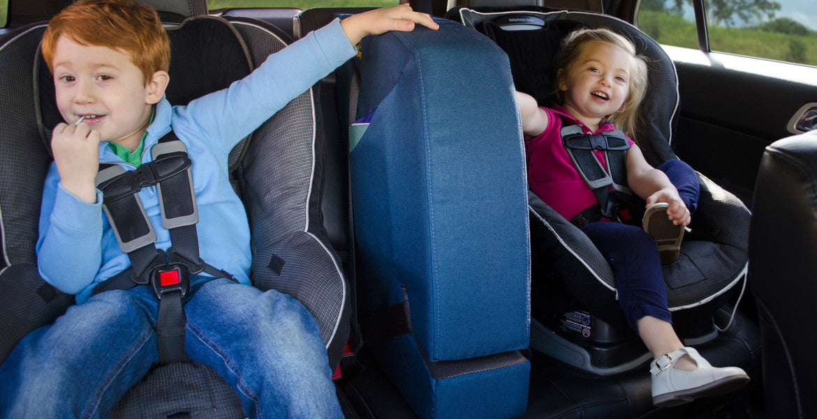 With Backseat Wally you'll finally enjoy the ride. And so will your kids.