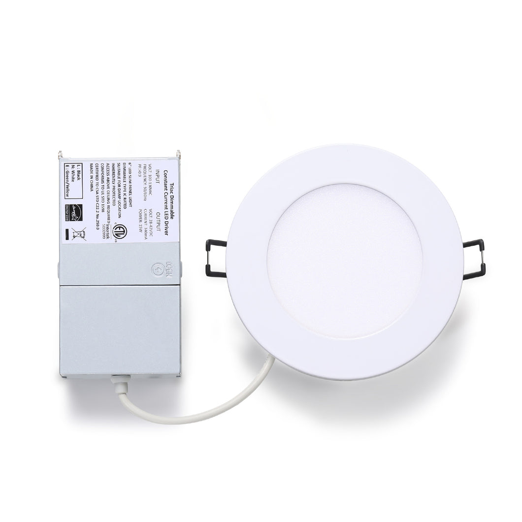 Everbright Slim LED Recessed 4inch Pot Light Dimmable