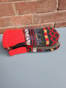 Wool Sweater Mittens - Ugly Sweater 2