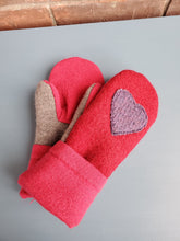 Load image into Gallery viewer, Wool Sweater Mittens - Love Mittens