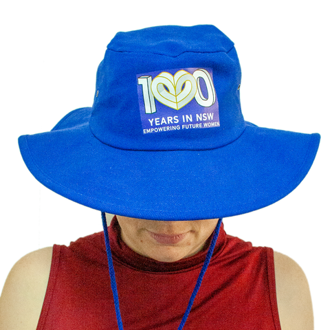 Wide Brim Hat with Centenary Logo