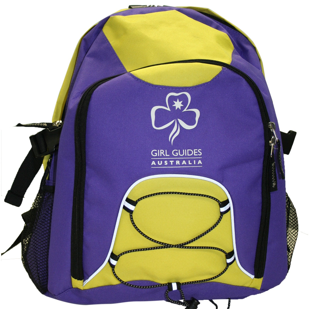 Backpack - Purple and Yellow