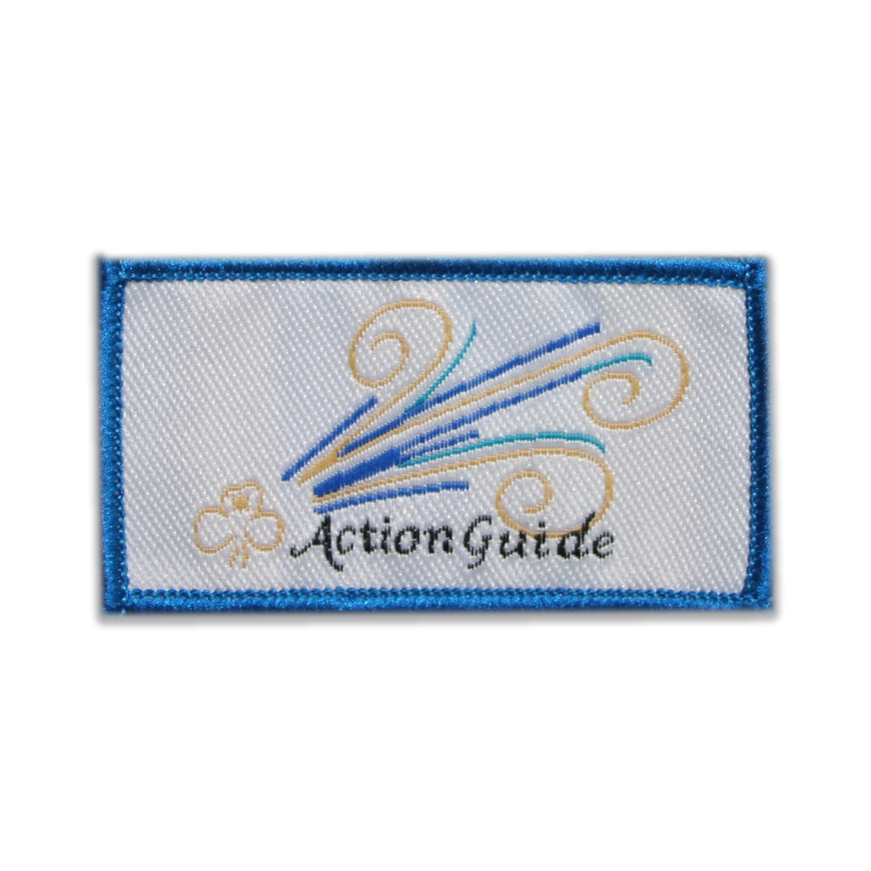 Action Badge (Cloth) - Blue 2019