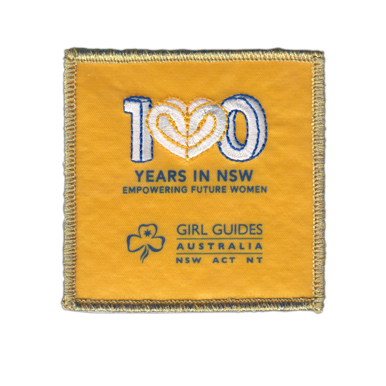 Centenary Cloth Badge