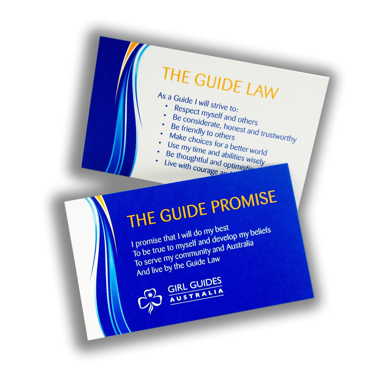 Promise and Law Card