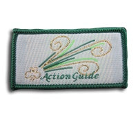 Action Badge (Cloth) - Green 2021
