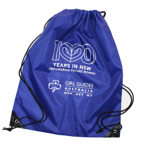 Drawstring Bag with Centenary Logo