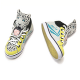 Feiyue x Milk On The Rocks Leopard Trainers