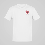 Load image into Gallery viewer, Black Love Matters Heart Artwork T-shirt