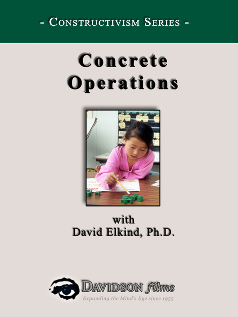 Concrete Operations With David Elkind, Ph.D.