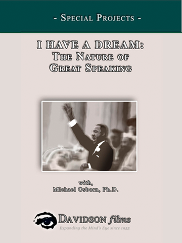 I Have a Dream: The Nature of Great Speaking With Michael Osborn, Ph.D.
