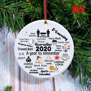 ❗❗❗Limited time promotion✨Only $4.99 ❤️🎅2020 Xmas Tree Hanging Decoration🌲❤️(Buy 8 free shipping)