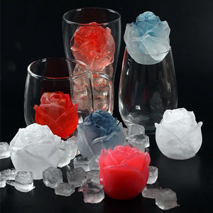 3D Silicone Rose Shape Ice Cube Mold(BUY MORE, SAVE MORE)