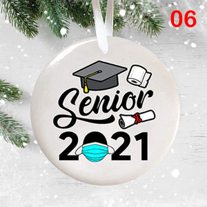 ❗❗❗Only $5.99 🎁❤️Senior 2021 Ornament Gift (Buy 8 free shipping)