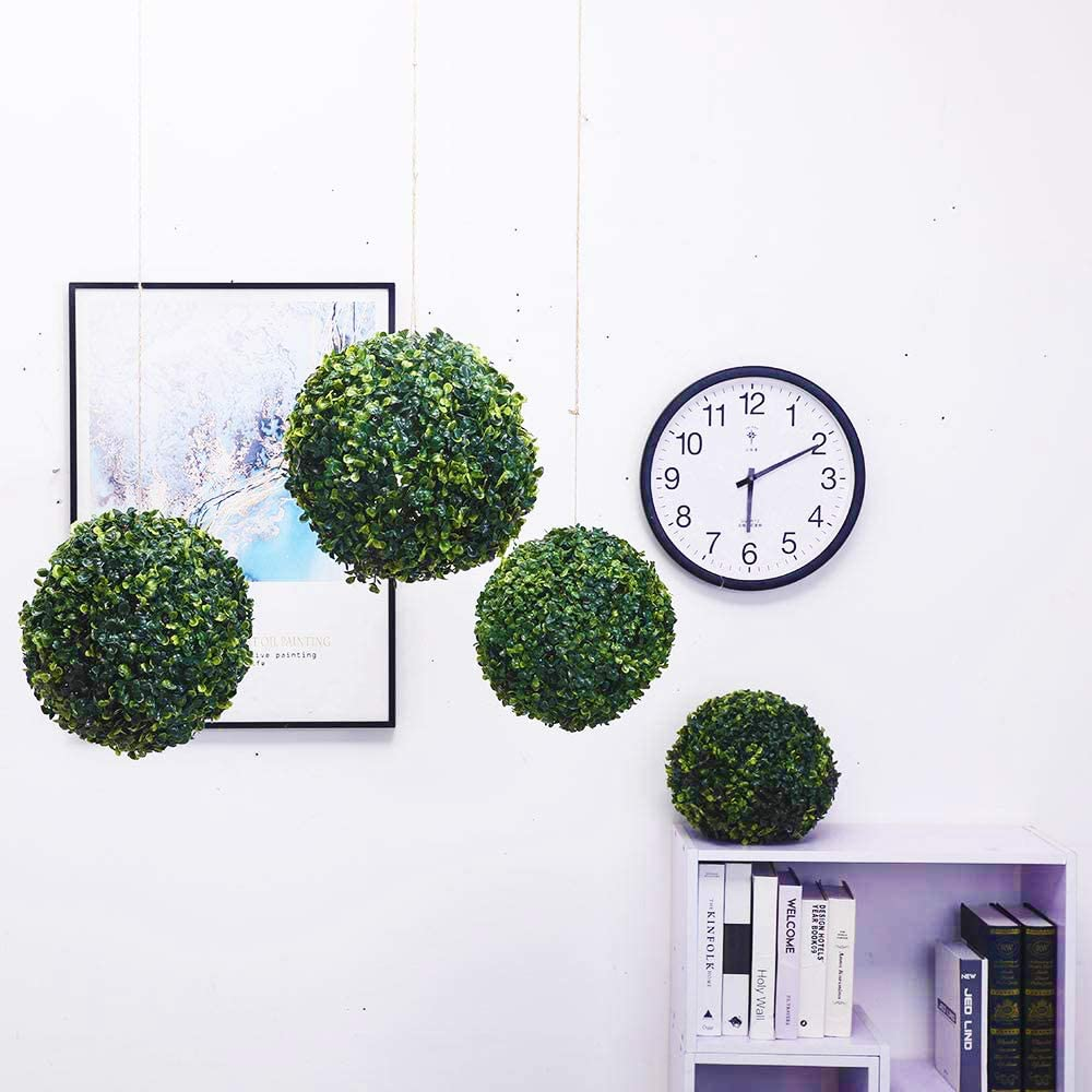 50%OFF-Artificial Plant Topiary Ball Faux Boxwood Decorative Balls