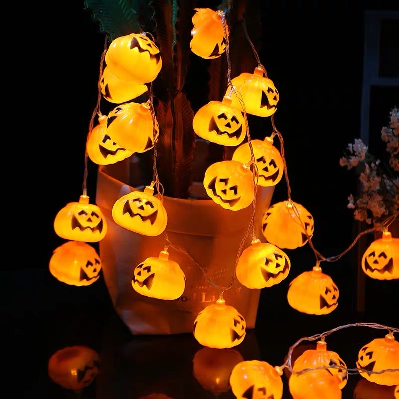 ONLY $9.99--Witch pumpkin Light string