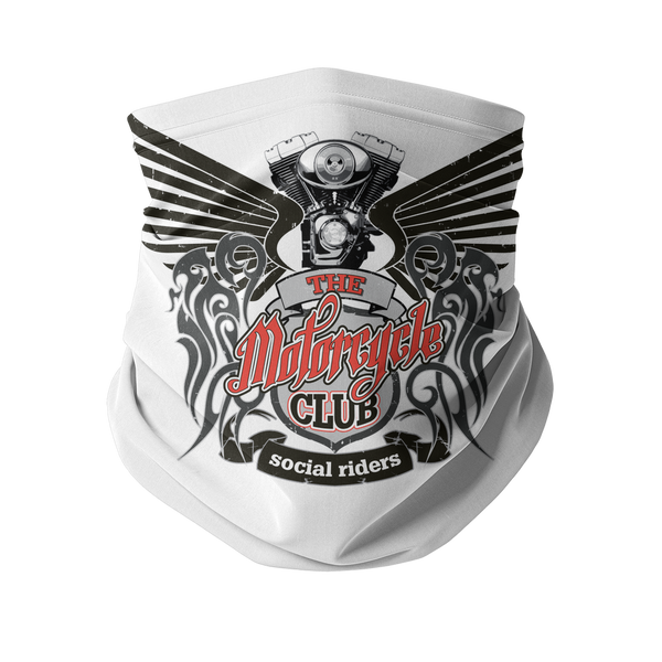 THE MOTORCYCLE CLUB Sublimation Neck Gaiter