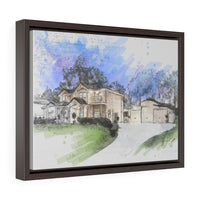 Horizontal Framed Premium Gallery Wrap Canvas | 421-423 Spring Mountain Dr