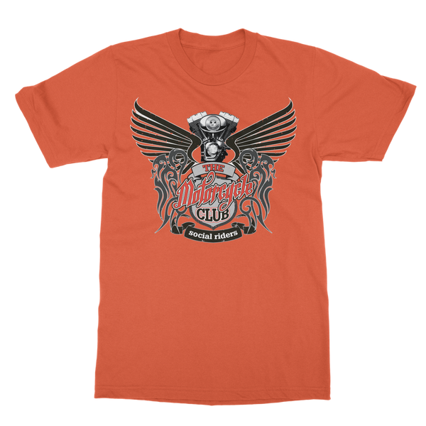 THE MOTORCYCLE CLUB Classic Heavy Cotton Adult T-Shirt
