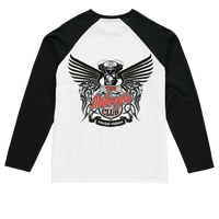 THE MOTORCYCLE CLUB Sublimation Baseball Long Sleeve T-Shirt