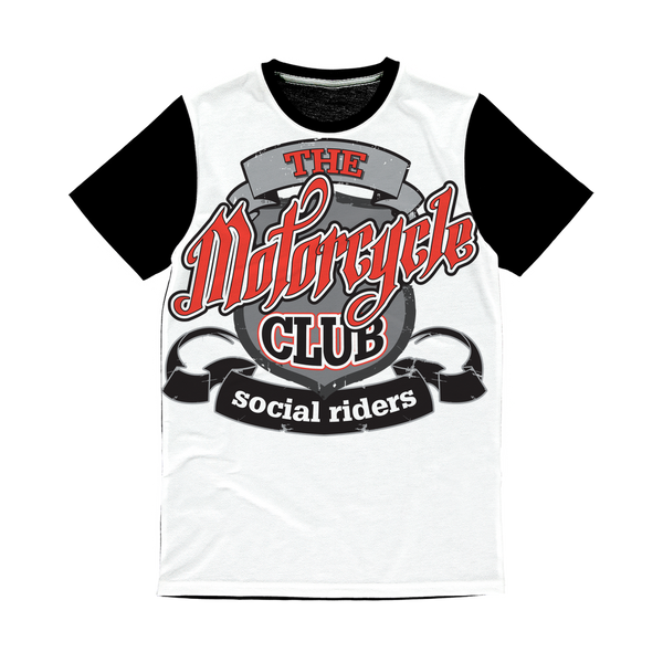 THE MOTORCYCLE CLUB Classic Sublimation Panel T-Shirt