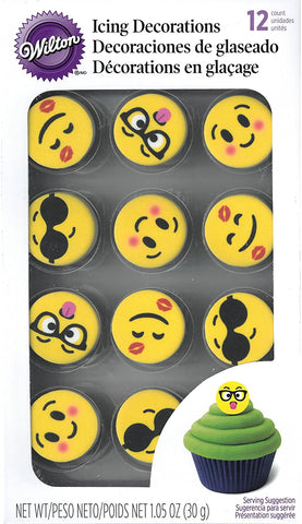 Emoji Icing Decorations
