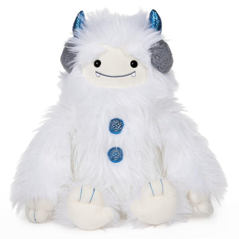 Holiday Yeti Tinsel Plush