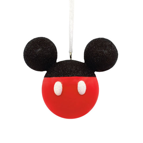 Mickey Mouse Glitter Icon Ornament
