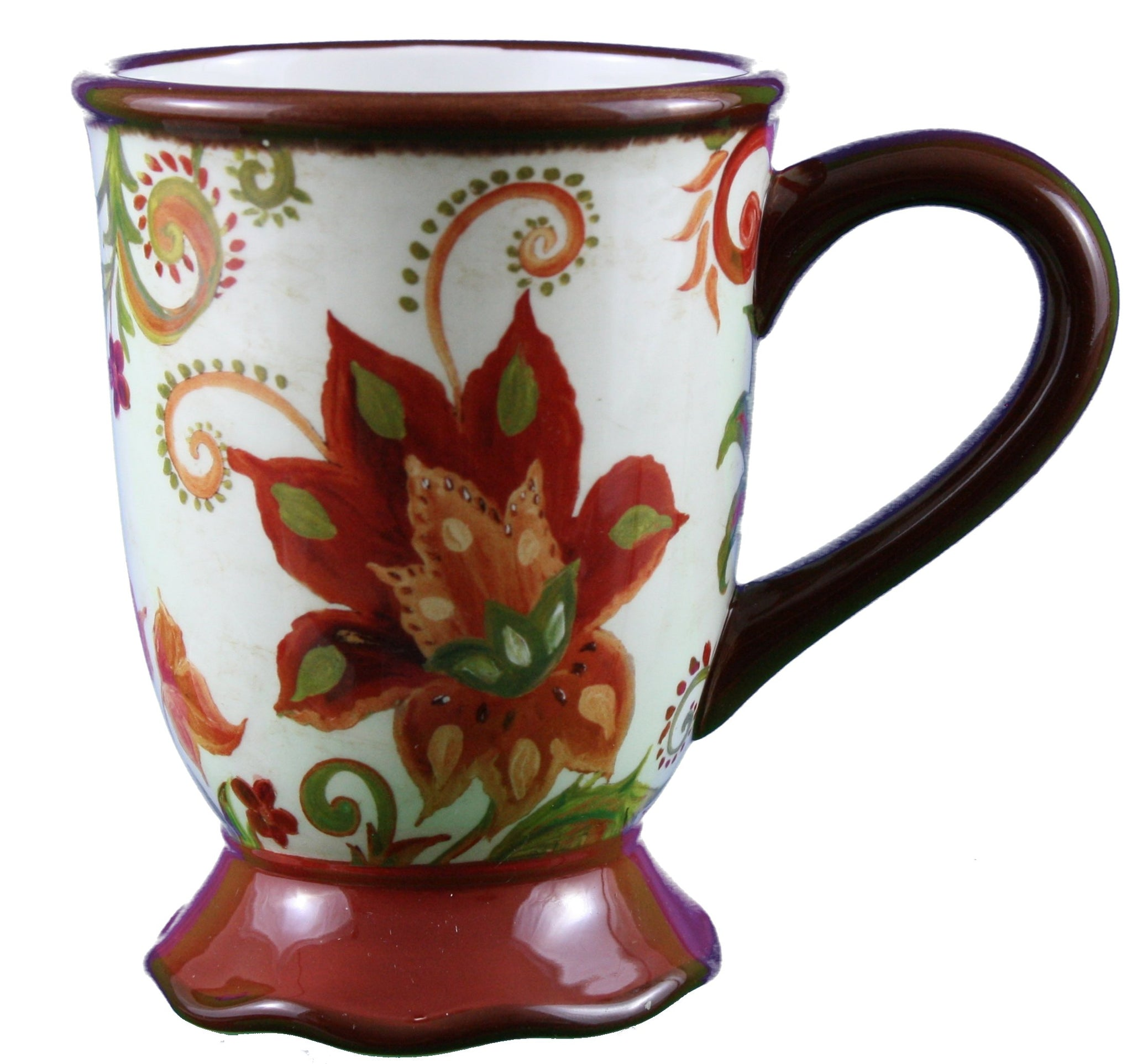 Spice Flower Mug 18oz
