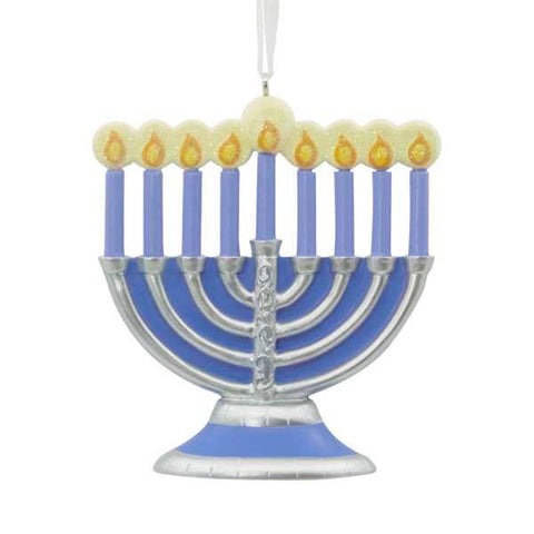 Hallmark Menorah Ornament