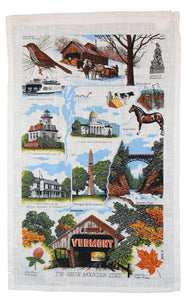 Vermont Landmarks Kitchen Towel