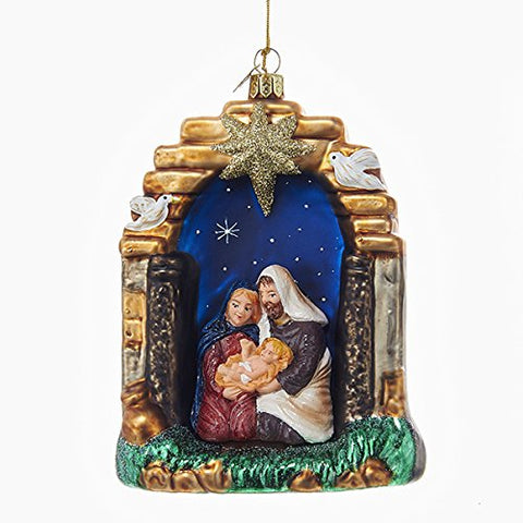 Noble Nativity Scene Ornament