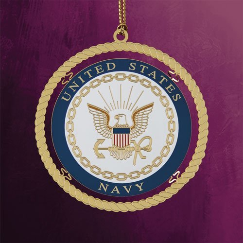 Chemart Navy Ornament