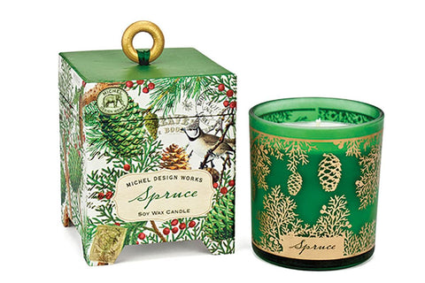 Gift Boxed Soy Wax Candle - 6.5 Ounce - Spruce