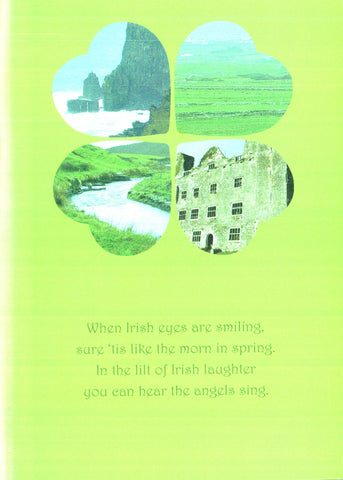 St. Patrick's Day Card - Irish Eyes
