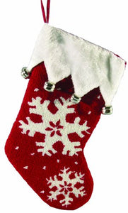 19 inch Snowflake Stocking