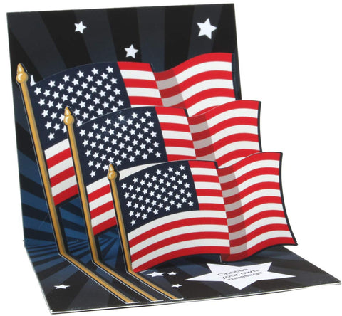Patriotic Pop Up Card