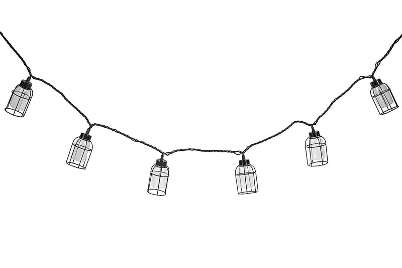 Dei Vintage Style Cage String Lights 10 Count