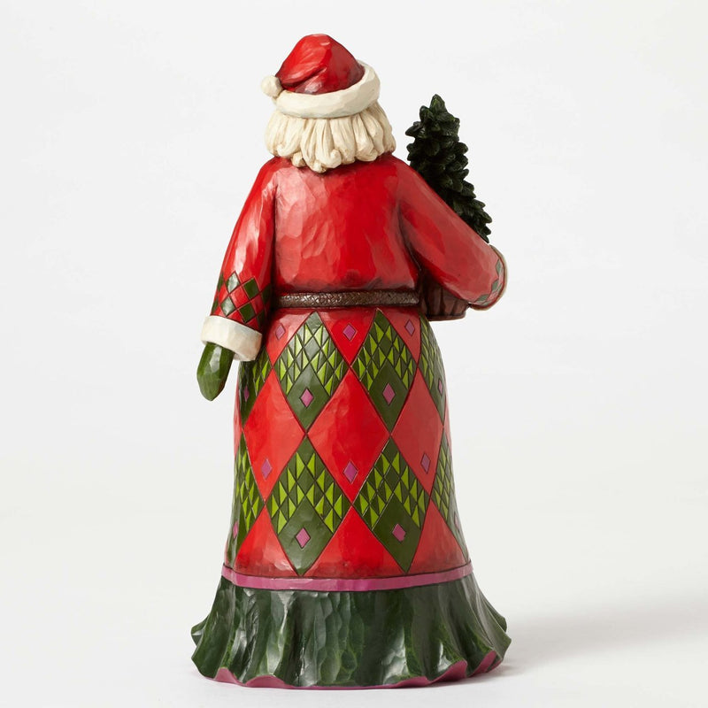 Jim Shore Heartwood Creek Figurine Evergreen Santa