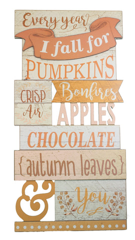Wall Hanging Harvest Wooden Sign