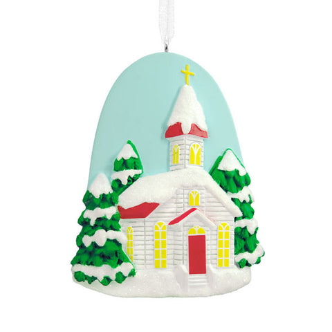 Hallmark DaySpring Church Ornament