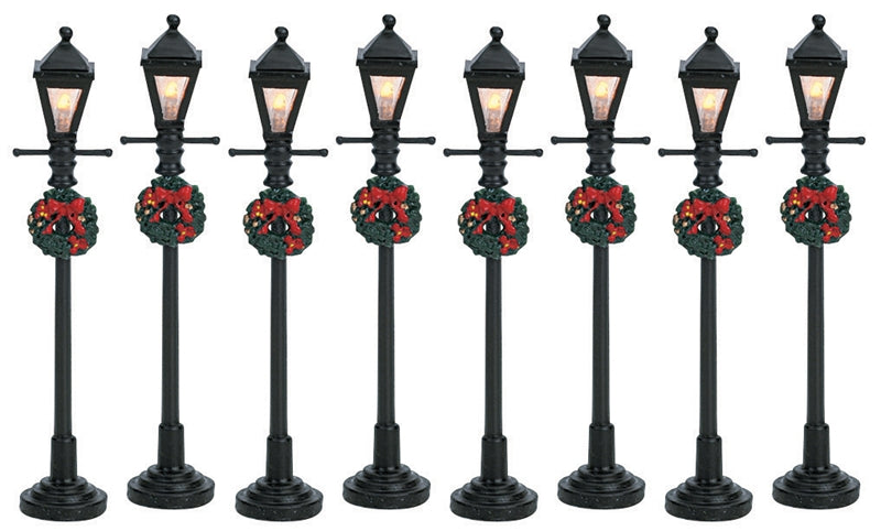 Village Gas Lantern Street Lamp -